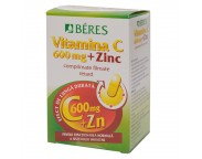Beres Vitamina C 600mg + Zn x 30 tb