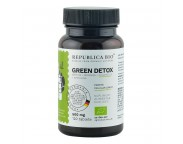 Green Detox ecologic, 120 tablete, Republica BIO