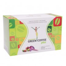 Green Coffee plus x 45 plicuri - extract standardizat de boabe de cafea verde