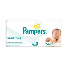 Pampers Servetele Baby sensitive single x 56 bucati